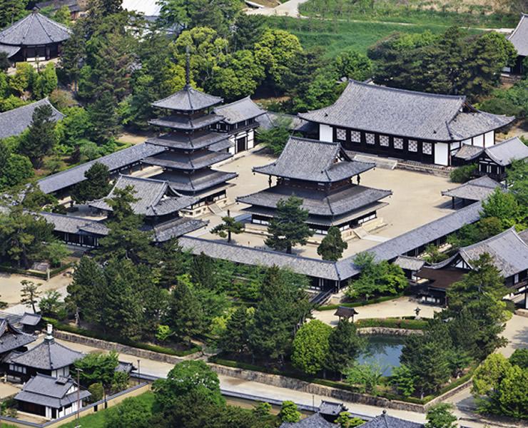 法隆寺地域の仏教建造物(奈良県)