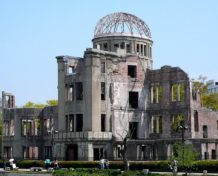 原爆ドーム(広島県)